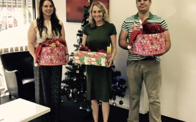 TASC Delivers Christmas Hampers to Base Service