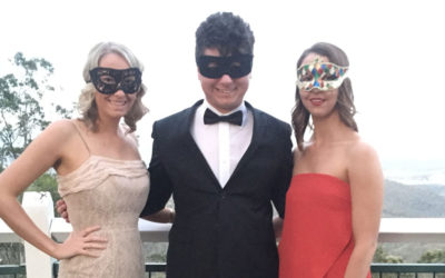 USQ Black Tie Masquerade Law Ball