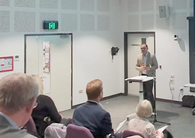 The Hon David Janetzki MP presenting at TASC 2020 AGM